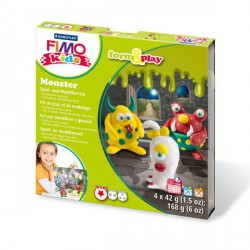 Kit Fimo Kids Monstres