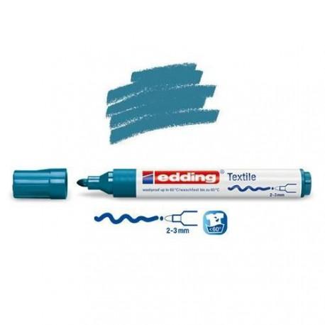 Marqueur textile Bleu d'Orient pointe 2-3 mm