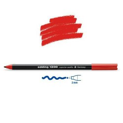 Feutre coloriage Rouge pointe 2 mm