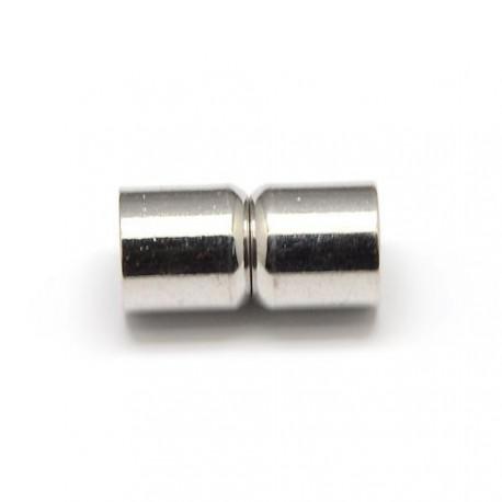 Fermoir magnétique tube, 8 mm