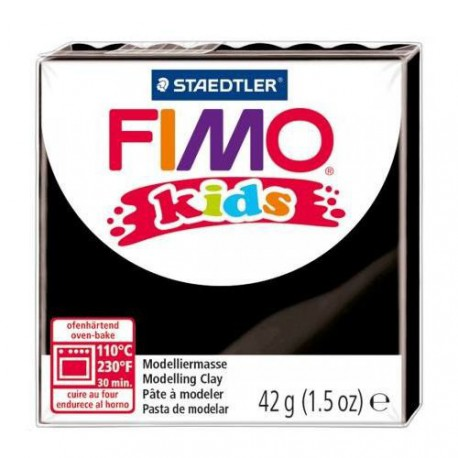 Fimo Kids Noir 9 - 42 gr
