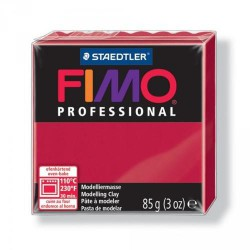 Fimo Professional Rouge Carmin 29 - 85 gr