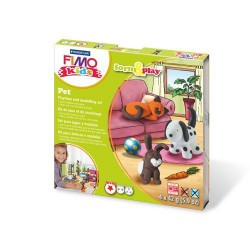 Kit Fimo Kids Animaux familiers