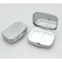 Boîte rectangle métallique à décorer