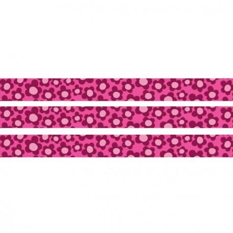 Masking Tape Girl Fleurs - 15 mm x 10 m