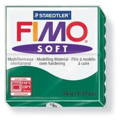 Fimo Soft Vert Emeraude 56 - 57 gr