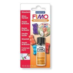 Vernis brillant à l'eau pour fimo - 10 ml