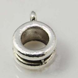 Perle métallique style Pandora - à l'unité