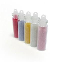 5 Flacons Microbilles Cristal
