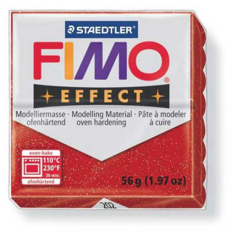 Fimo Effect 202 Rouge Métallique - 57 gr