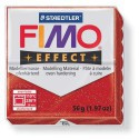Fimo Effect 202 Rouge Pailleté - 57 gr