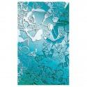 Plaque de texture Papillons 20 x 13 cm