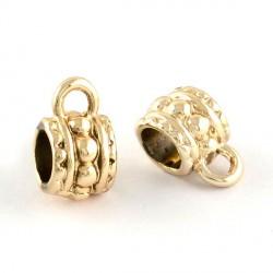 Attaches métalliques dorées style Pandora - à l'unité