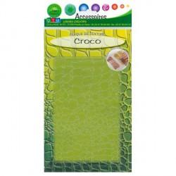 Plaque de texture Croco 20 x 13 cm