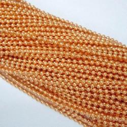 Chaîne billes, Ø1,5 mm Orange