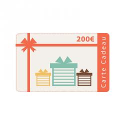 Carte cadeau 200