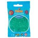 Sachet 2000 Perles Hama Mini - Vert transparent