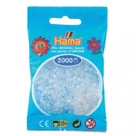 Sachet 2000 Perles Hama Mini - Transparent