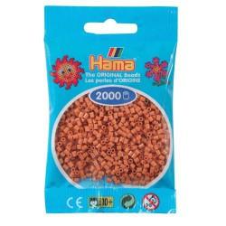 Sachet 2000 Perles Hama Mini - Marron clair