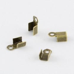 Serre-fils x 10, Epaisseur 3 mm, bronze