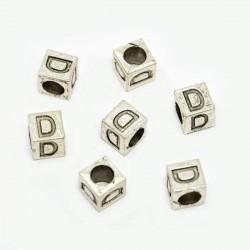 Métal Lettre D style Pandora - à l'unité