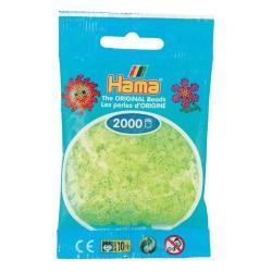 Sachet 2000 Perles Hama Mini - Jaune néon