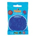Sachet 2000 Perles Hama Mini - Bleu néon