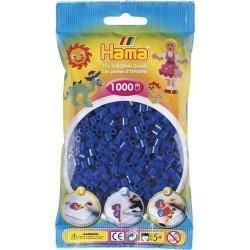 Sachet 1000 Perles Hama Midi - Bleu foncé
