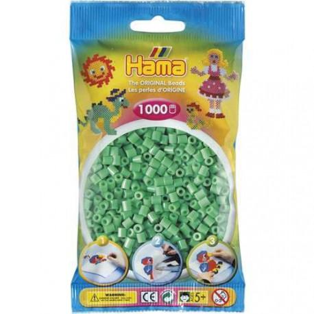 Sachet 1000 Perles Hama Midi - Vert clair