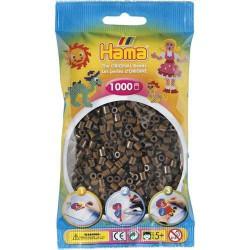 Sachet 1000 Perles Hama Midi - Marron