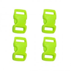 Fermoir clip Paracord Vert 10 mm