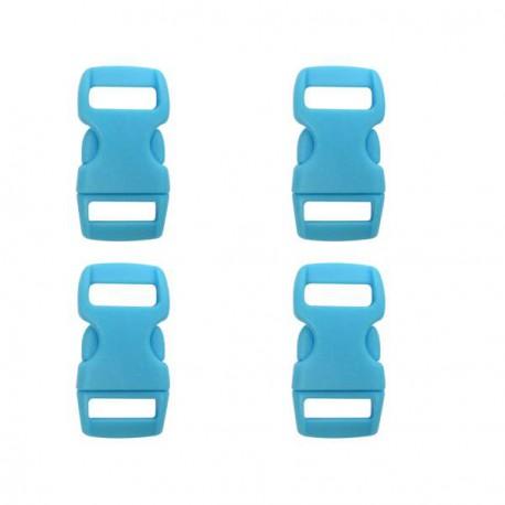 Fermoir clip Paracord Bleu 10 mm