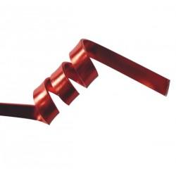 Fil aluminium plat 5 mm, sachet de 4 m, Rouge