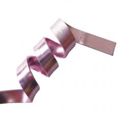 Fil aluminium plat 5 mm, sachet de 4 m, Rose