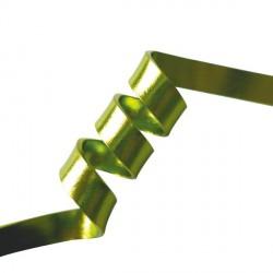 Fil aluminium plat 5 mm, sachet de 4 m, Vert