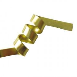 Fil aluminium plat 5 mm, sachet de 4 m, Or