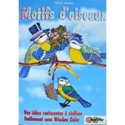 Motifs d'oiseaux avec Window Color