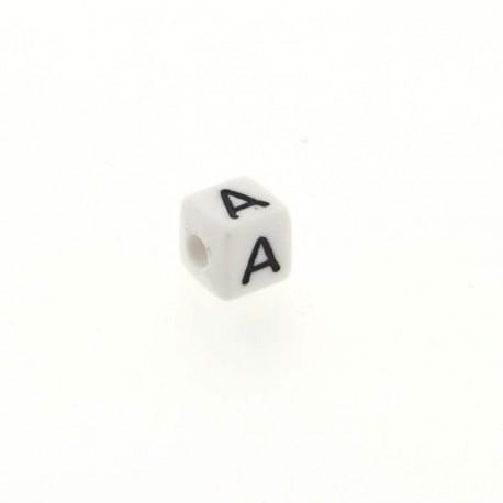 Perle Alphabet cube Lettre A