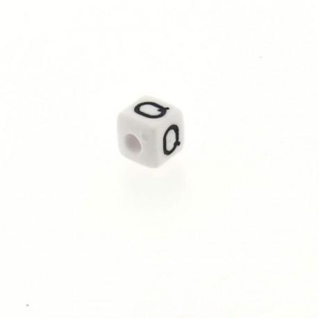 Perle Alphabet cube Lettre Q