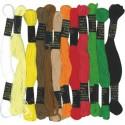 Lot 12 Fils pour bracelets brésiliens Ethnique