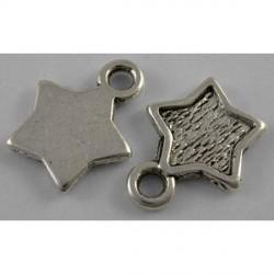 Pendentif breloque en métal Etoile