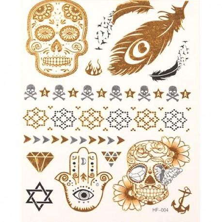 Tatouage temporaire Tattoo Esotérique