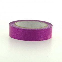Glitter Tape Fuchsia - 15 mm x 4 m