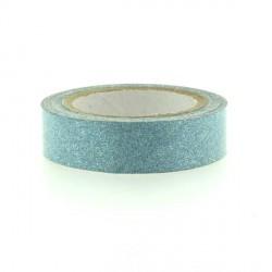 Glitter Tape Turquoise - 15 mm x 4 m