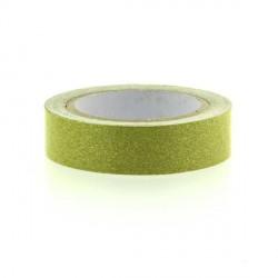 Glitter Tape Vert Clair - 15 mm x 4 m