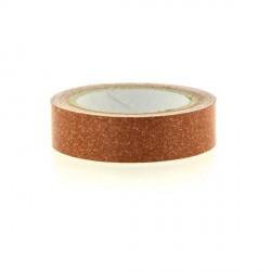 Glitter Tape Orange - 15 mm x 4 m