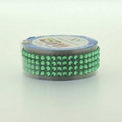 Strass Tape Vert - 18 mm x 0,5 m