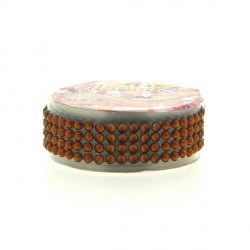 Strass Tape Marron - 18 mm x 0,5 m