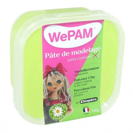Porcelaine froide WePam Vert Anis - 145 gr