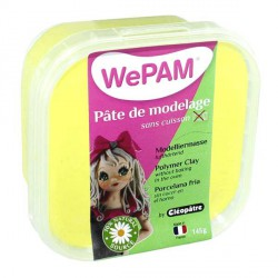 Porcelaine froide WePam Jaune Fluo  - 145 gr